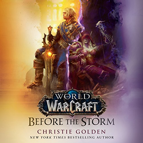 Before the Storm Audiobook by Christie Golden